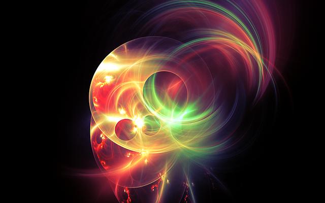 barevné světlo